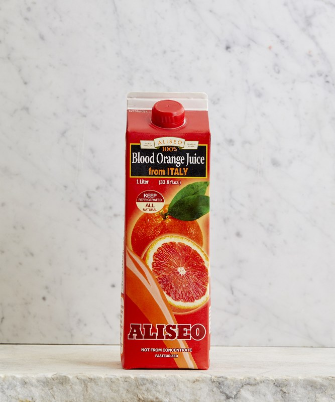 Aliseo Blood Orange Juice, 1L