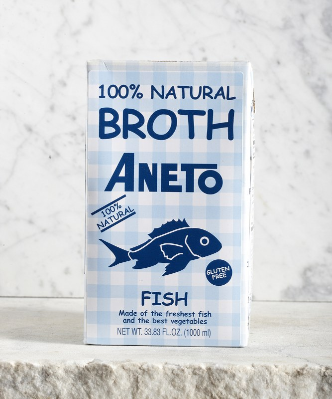 Aneto Fish Broth, 1L