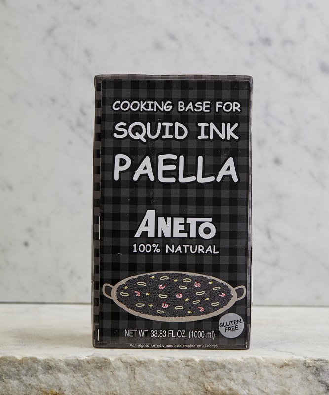 Aneto Squid Ink Paella Base, 1L