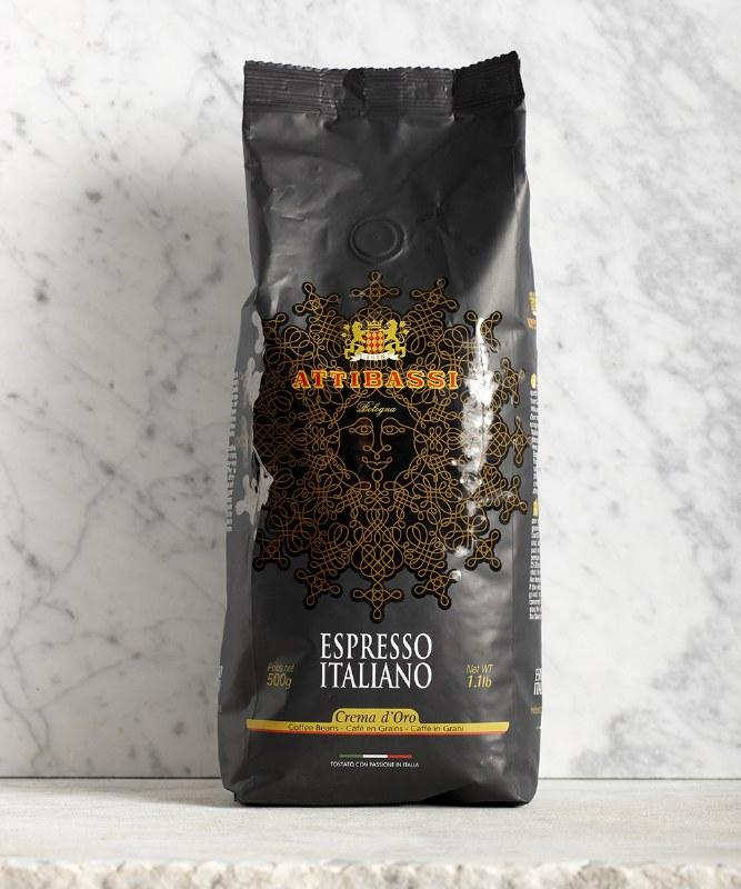 Attibassi Espresso Italiano Beans, 500g