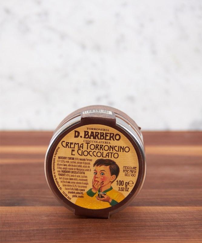 Barbero Chocolate Torrone Cream, 100g