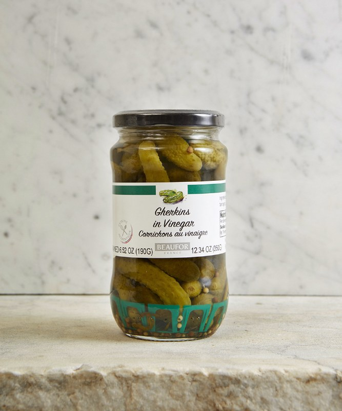 Beaufor Gherkins in Vinegar, 350g