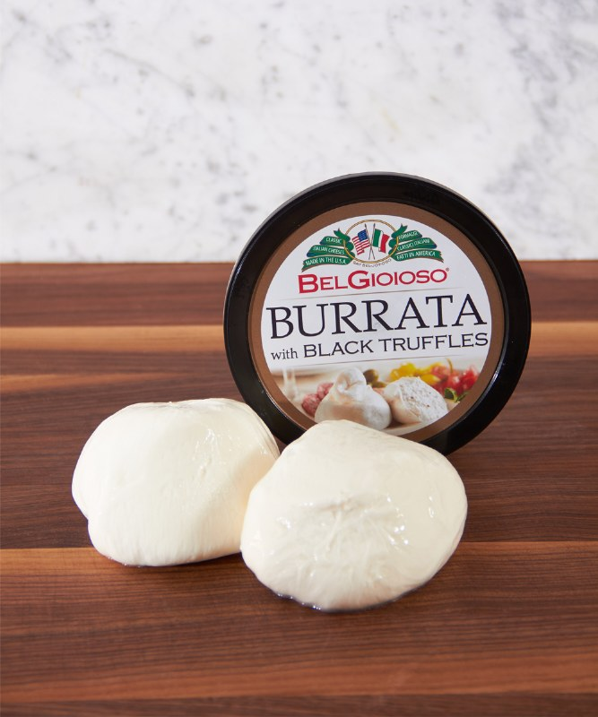 Belgioioso Burrata with Black Truffle