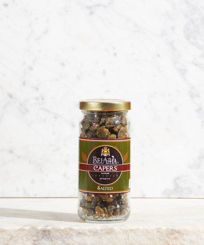 Bel Aria Salted Capers, 8oz