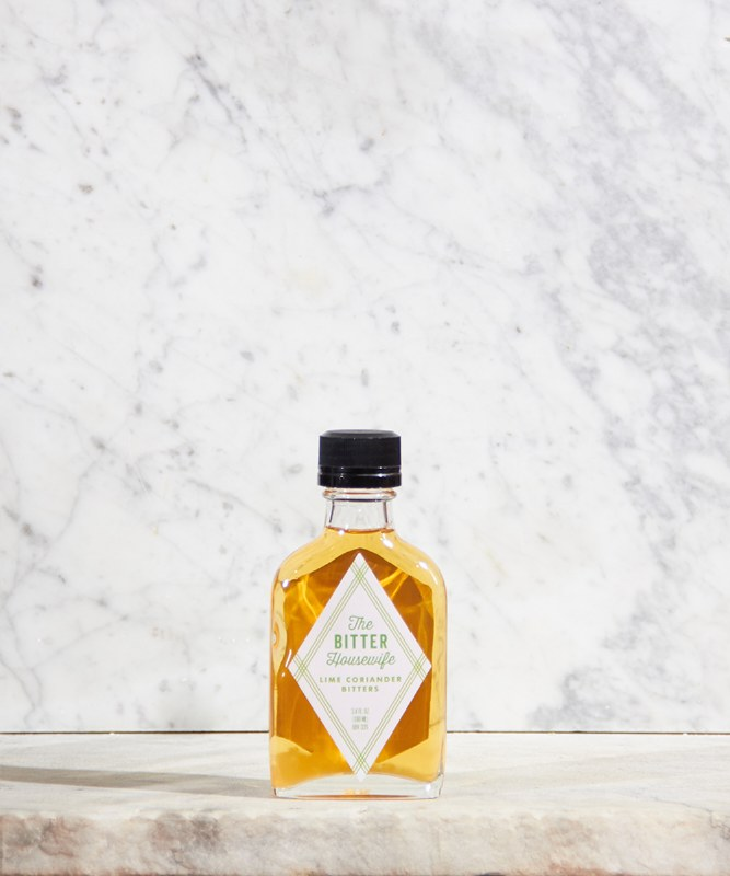 The Bitter Housewife Lime & Coriander Bitters, 3.4oz