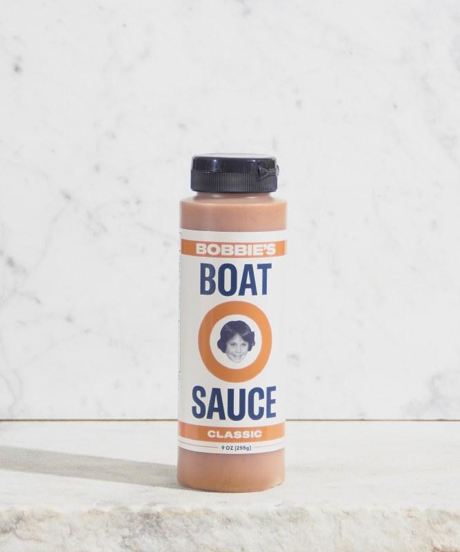 Bobbie's Mild Boat Sauce, 9oz