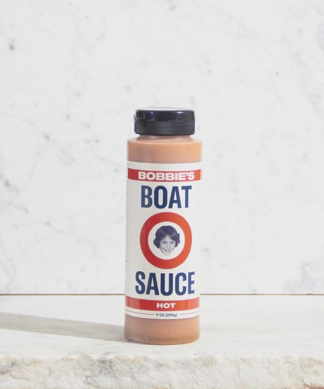 Bobbie's Hot Boat Sauce, 9oz