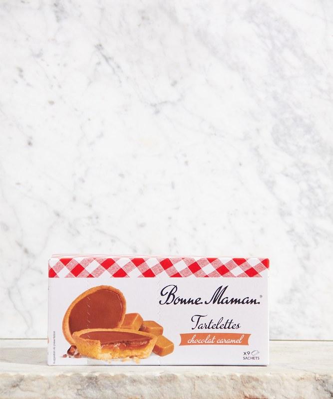 Bonne Maman Chocolate Caramel Tartlet, 135g