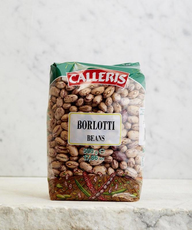 Calleris Borlotti Beans, 500g