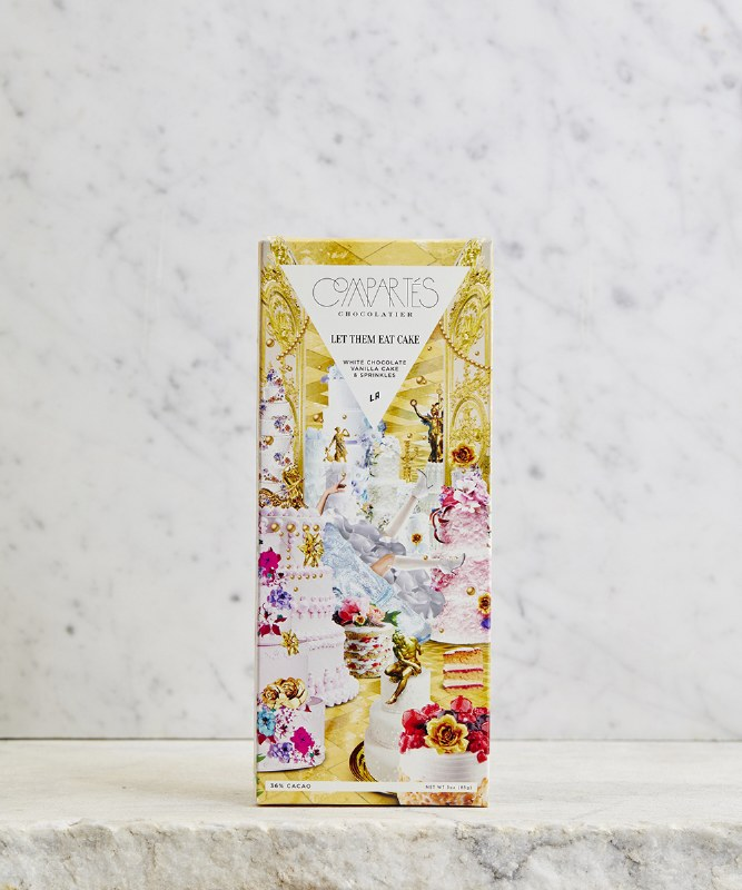 Compartes Let Them Eat Cake White Chocolate, 3oz