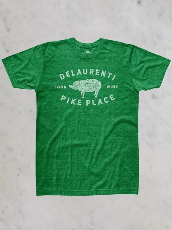 DeLaurenti Kids Classic Pig T-Shirt