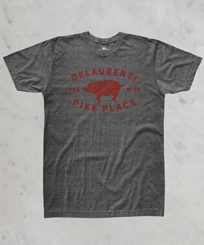DeLaurenti Classic Pig T-Shirt