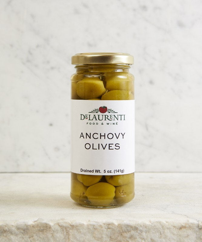 DeLaurenti Anchovy Stuffed Olives, 5oz