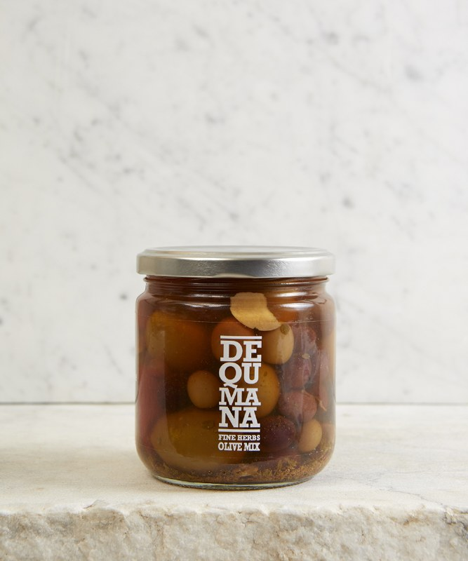 Dequemana Mixed Olives, 12oz