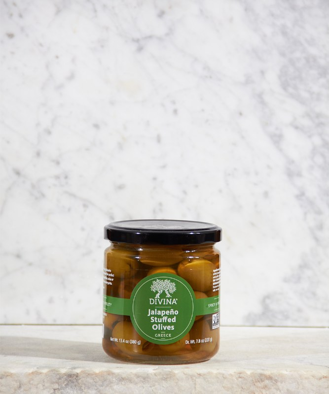 Divina Jalapeno Stuffed Olives, 13oz