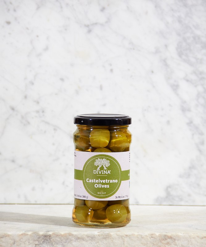 Divina Castelvetrano Olives, 7oz