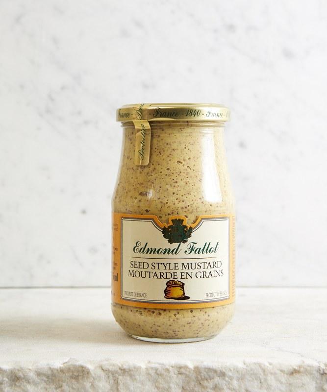 Edmond Fallot Mustard Seed Dijon, 380g