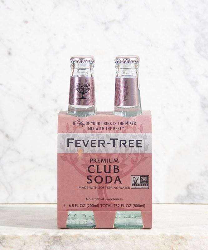 Fever Tree Club Soda, 4/200ml