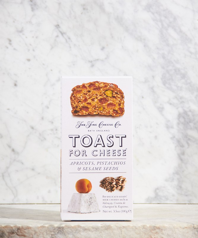The Fine Cheese Co Apricot Toast, 3.2oz