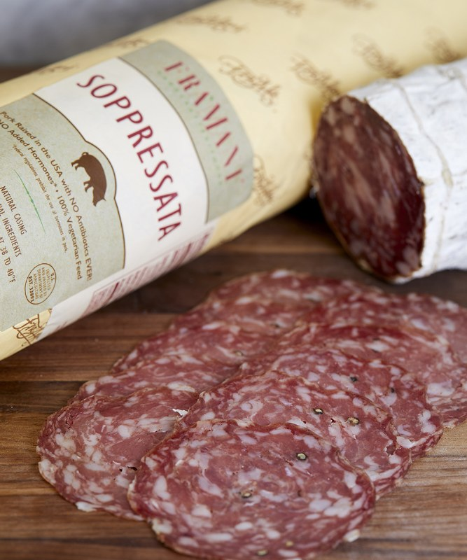 Fra' Mani Soppressata, Sliced
