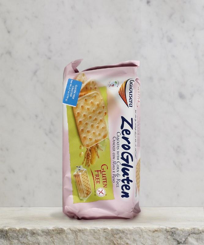 Galbusera GF ZeroGrano Crackers, 198g