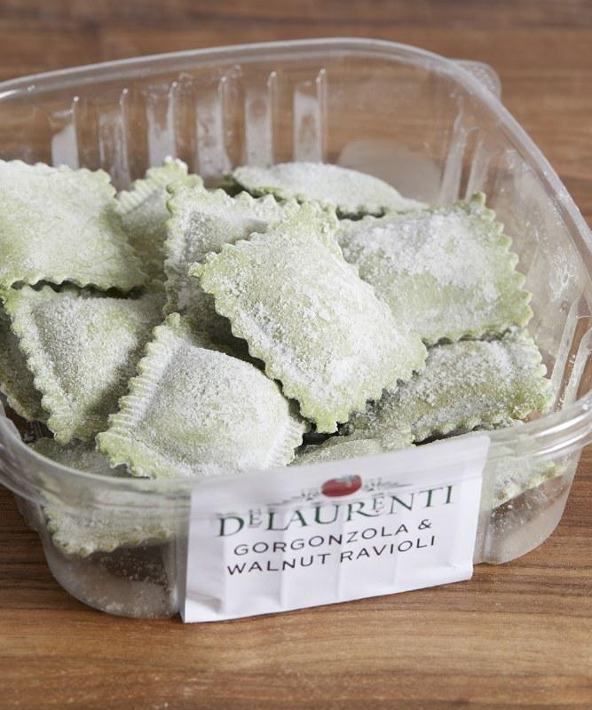 DeLaurenti Gorgonzola & Walnut Ravioli, 8oz