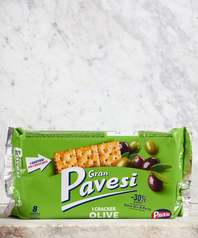 Gran Pavesi Olive Crackers, 250g