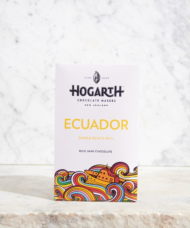 Hogarth Ecuador 85% Bar, 70g