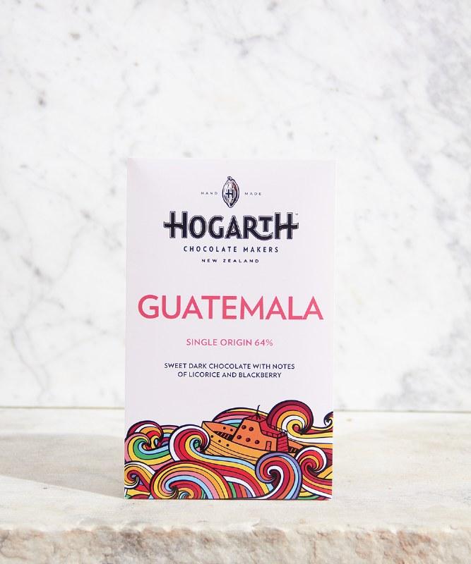 Hogarth Guatemala 64% Bar, 70g