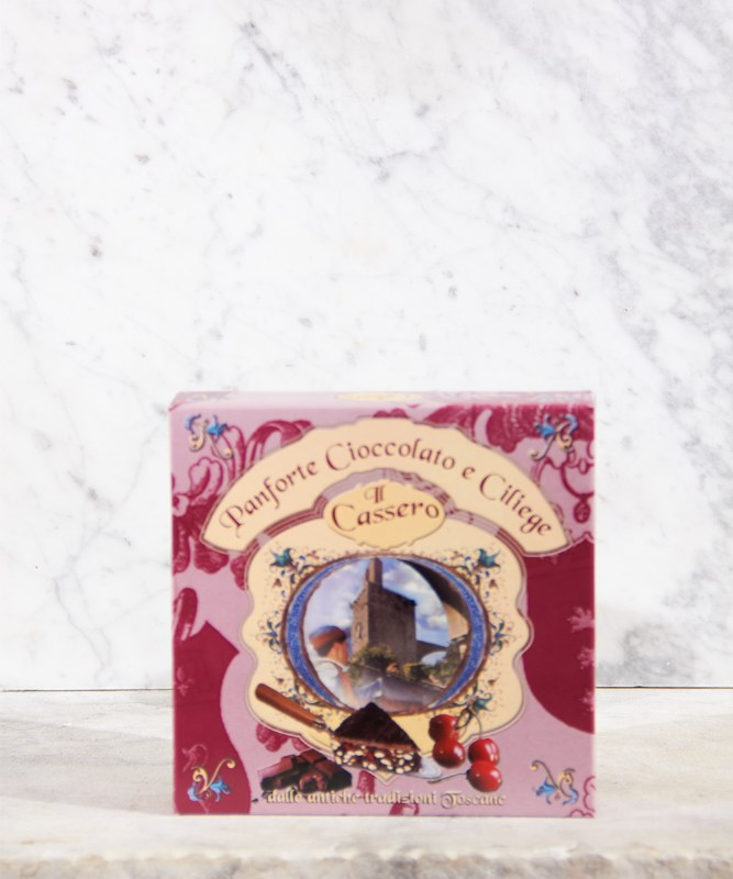 Il Cassero Panforte Chocolate & Cherry, 250g