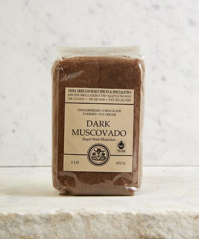 India Tree Dark Muscovado Sugar, 16oz