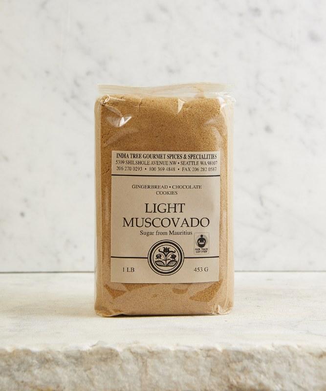 India Tree Light Muscovado Sugar, 16oz