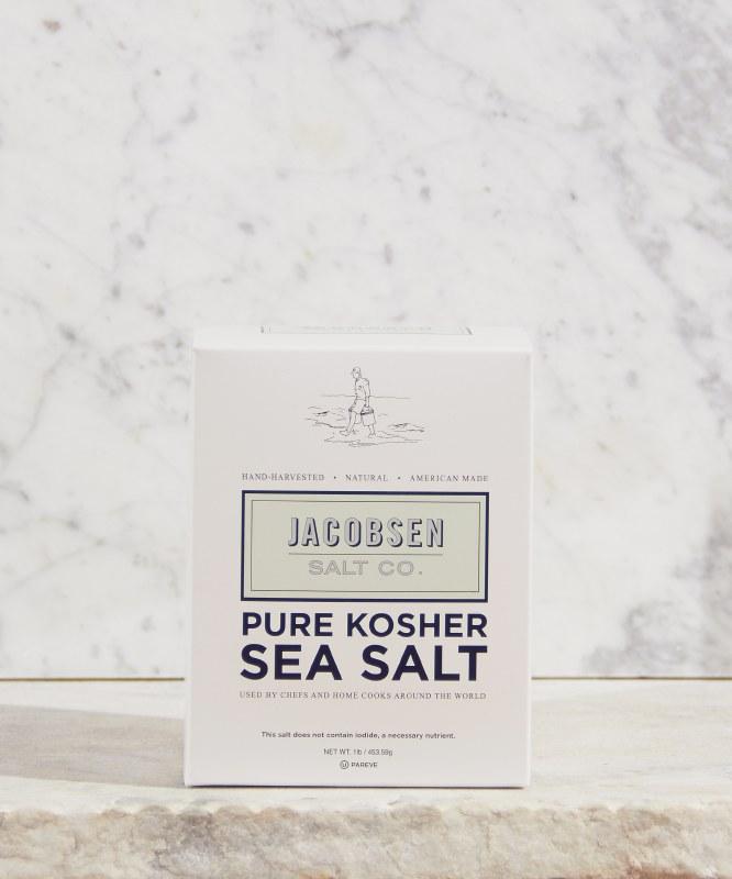 Jacobsen Pure Kosher Salt, 1lb
