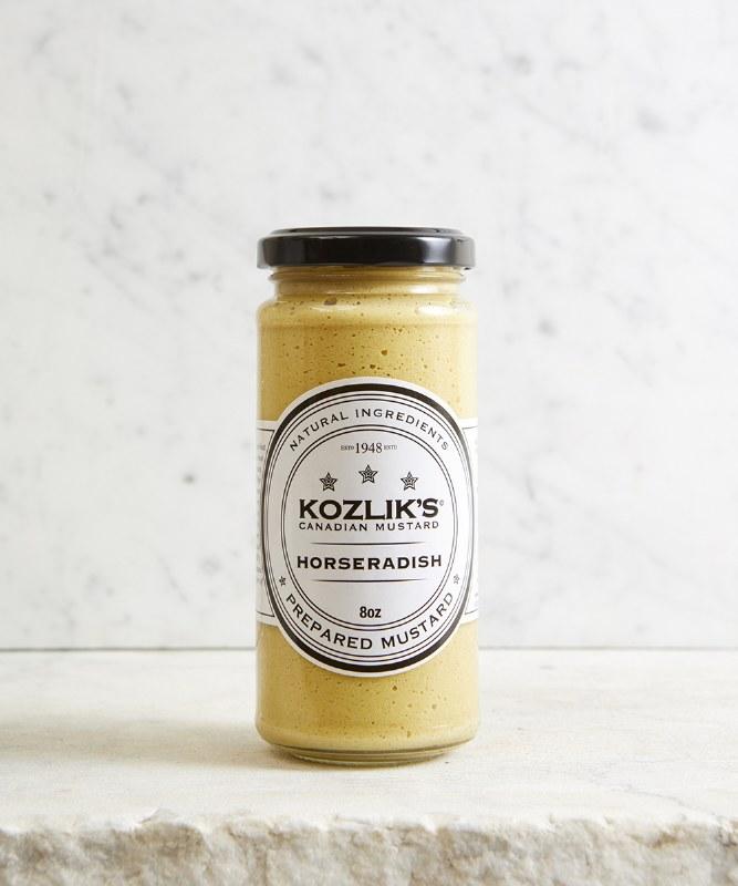 Kozlik's Horseradish Mustard, 250g