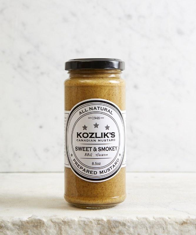 Kozlik's Sweet & Smokey Mustard, 250g