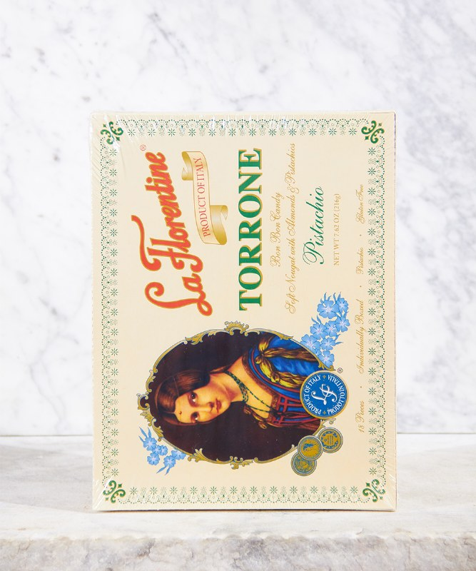 La Florentine Pistachio Torrone, 18pc