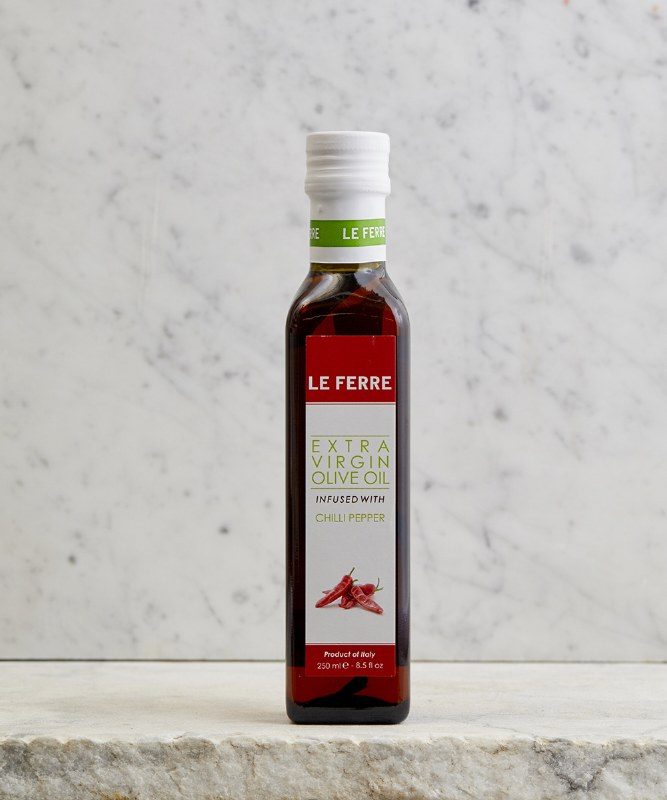 Le Ferre Chili Pepper Infused EVOO, 250ml