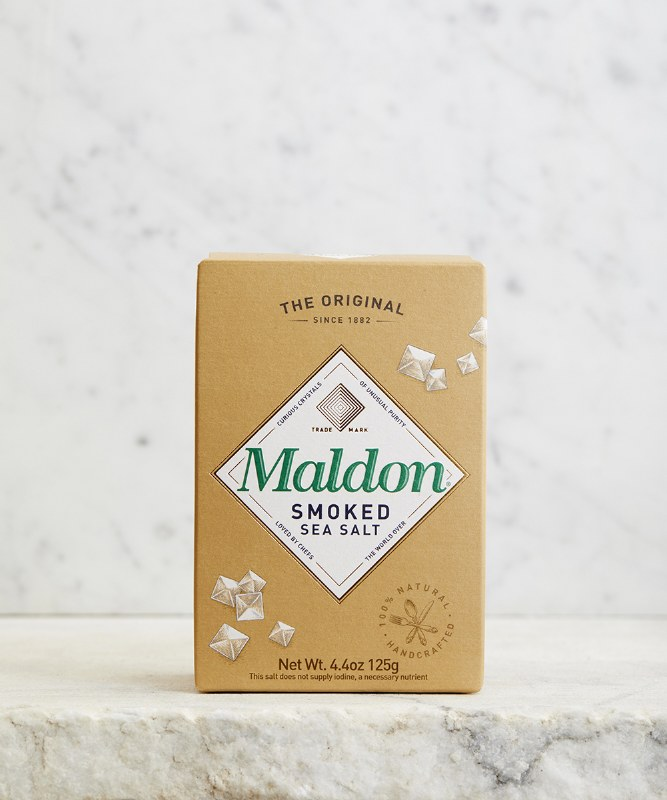 Maldon Smoked Sea Salt Flakes, 125g