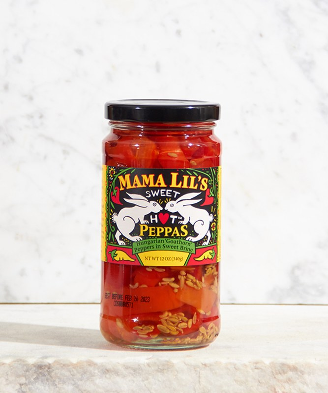 Mama Lil's Sweet Hot Peppers, 12oz