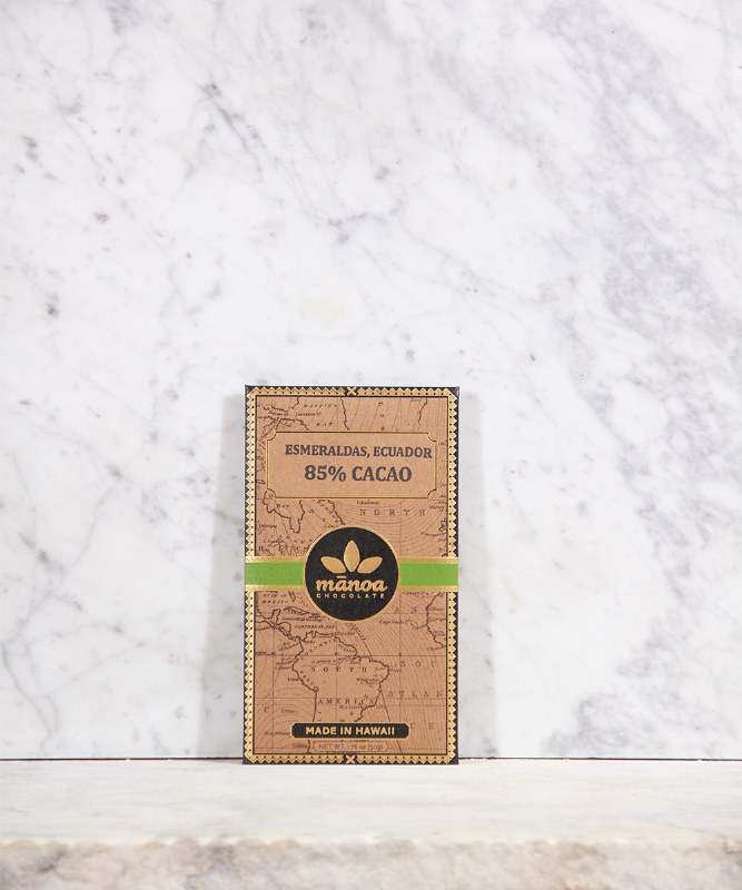 Manoa Esmeraldas Ecuador Dark Chocolate 85% Cacao, 2oz