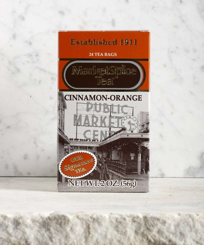 MarketSpice Original Cinnamon-Orange Tea, 24pc