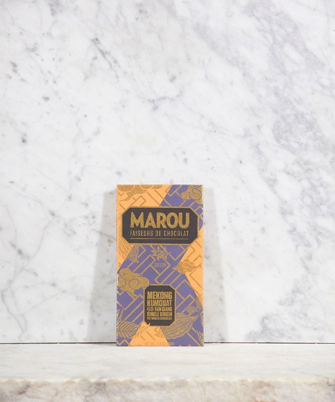 Marou Chocolate Mekong Kumquat Single Origin, 80g