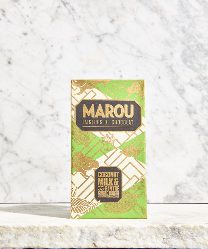 Marou Coconut Milk 55% Bar, 60g