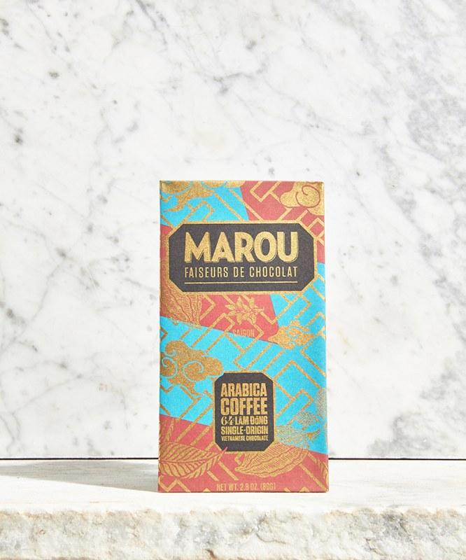 Marou Arabica Coffee Lam Dong 64% Bar, 60g