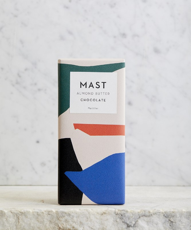 Mast Brothers Almond Butter Bar, 2.5oz