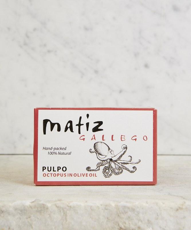 Matiz Octopus in Olive Oil, 111g