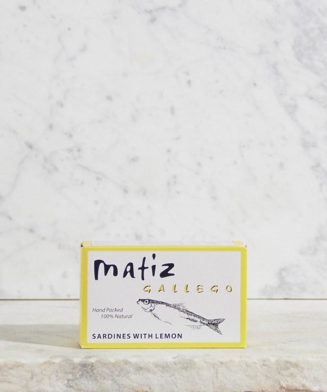 Matiz Sardines with Lemon, 113g