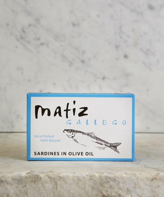 Matiz Sardines in Olive Oil, 120g