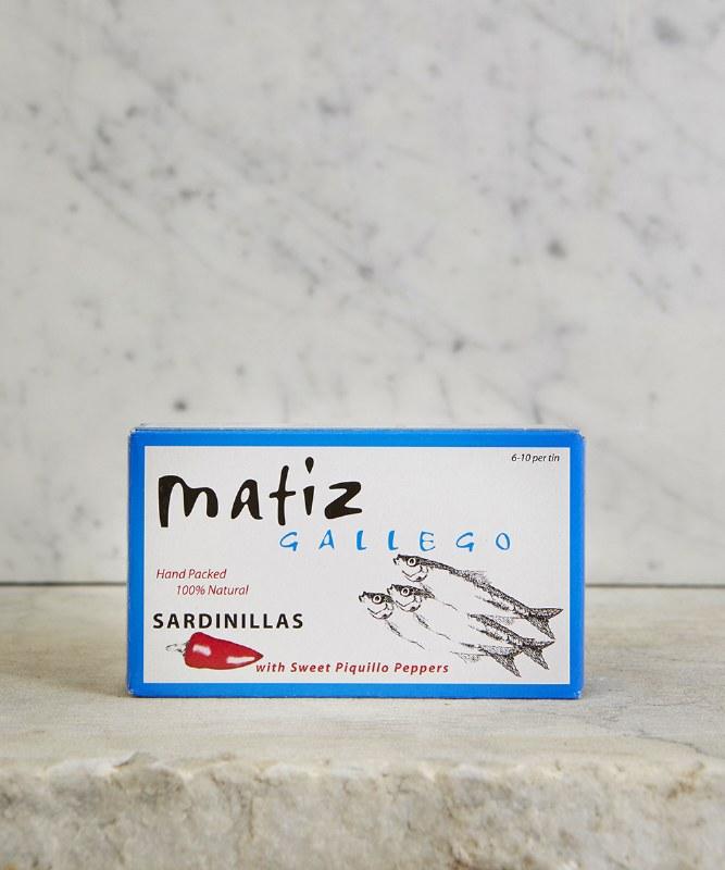Matiz Small Sardines with Piquillo Pepper, 120g