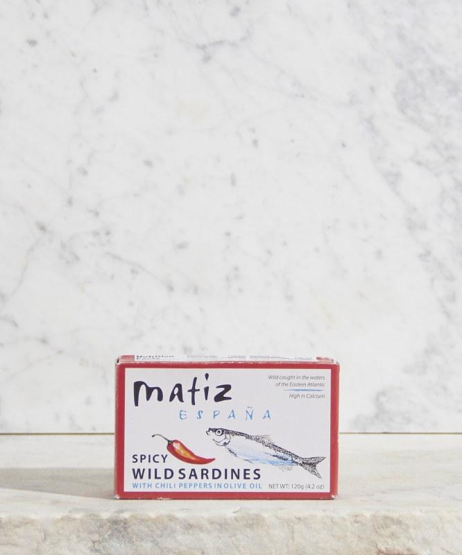 Matiz Sardines with Chili Pepper, 120g